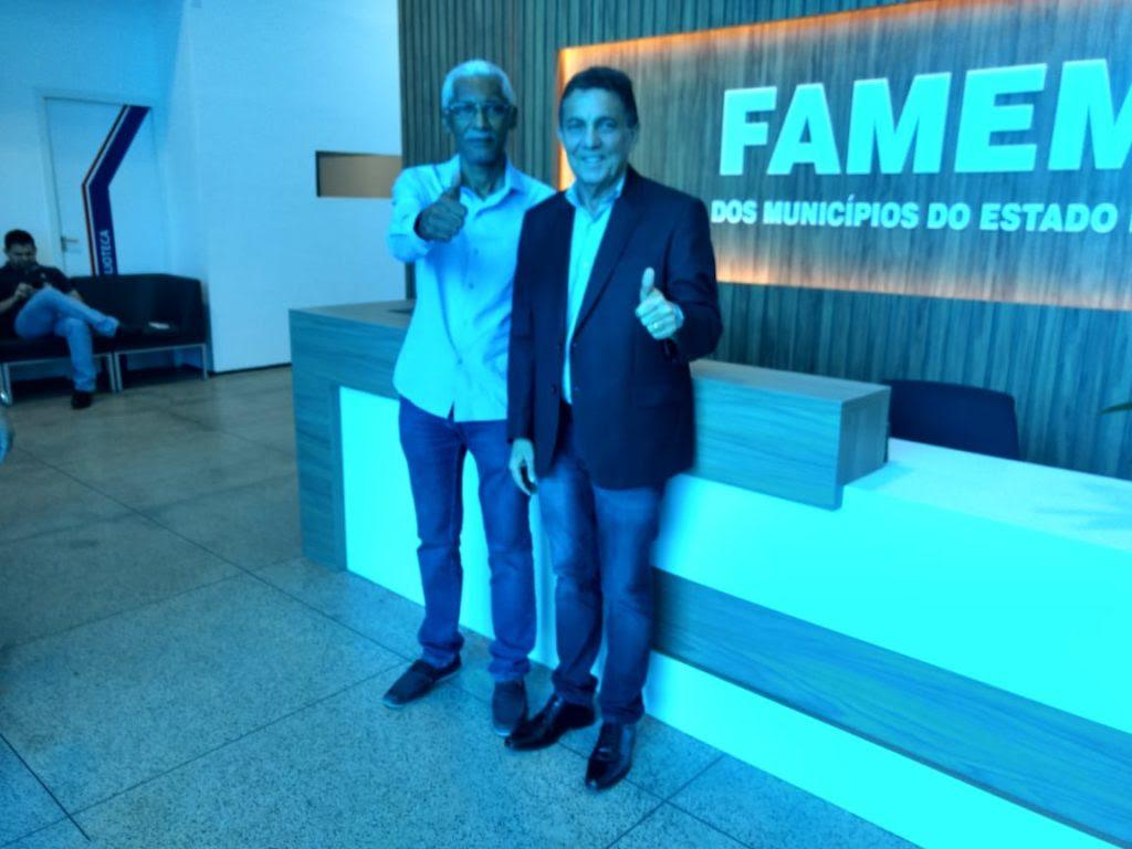 Domingos Dutra declara apoio a Tema e prega consenso na FAMEM