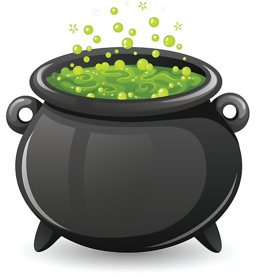 Halloween Cauldron featuring Mountain Dew?