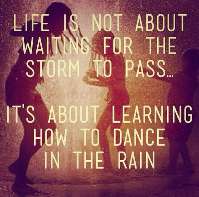 Learn How To Dance In The Rain Pictures Photos And Images For