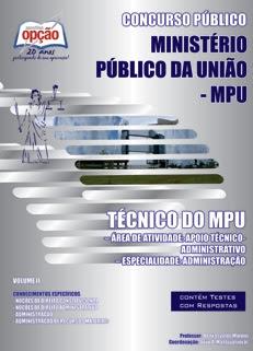 Ministério Público da União (MPU)-TÉCNICO DO MPU - VOLUME II