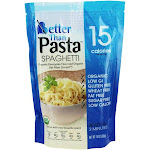 Better Than Foods Pasta Spaghetti Organic Konnyaku Flour and Organic Oat Fiber 14 oz.
