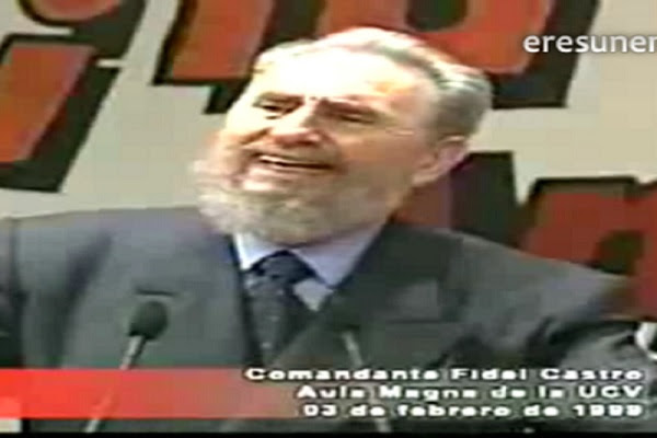 Fidel Castro en la UCV (2)