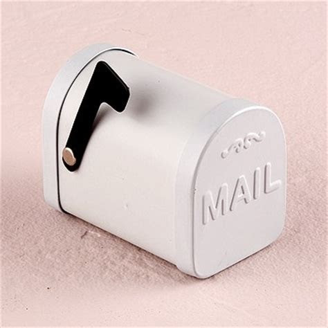 Metal Mail Box Favor Container   The Knot Shop
