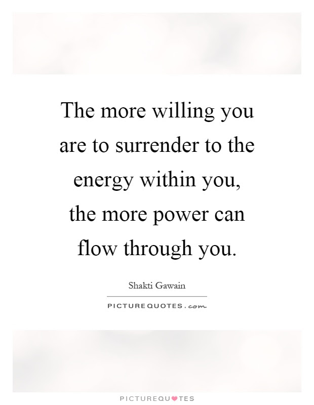 Surrender Quotes Surrender Sayings Surrender Picture Quotes
