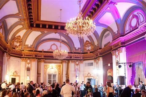 Love the purple uplighting in the Grand Ballroom