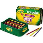Crayola Trayola Colored Pencils - 54 pencils