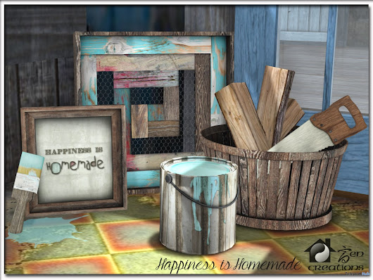 Happiness is Homemade 50L Promo by Zen Creations | Teleport Hub - Second Life Freebies