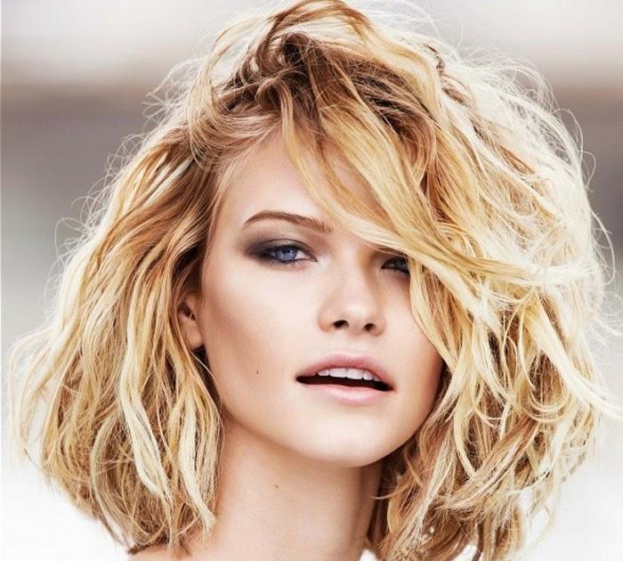 frisur dickes lockiges haar - frisuren w