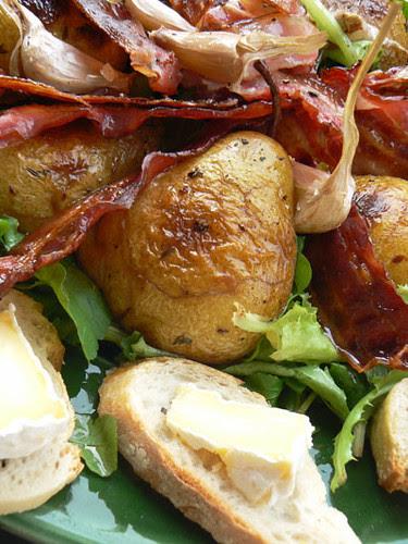 salade poire et ail rôties.jpg