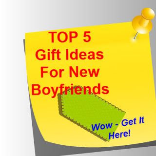 Top ideas for gifts for a new boyfriend - from a mom of 4 boys!