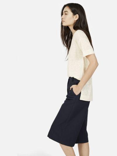 Everlane Linen Short Sleeve Tee