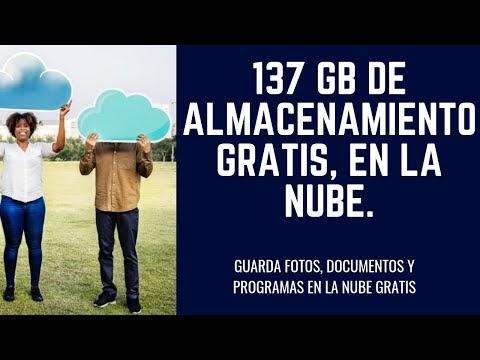 137 Gb de almacenamiento gratis en la nube