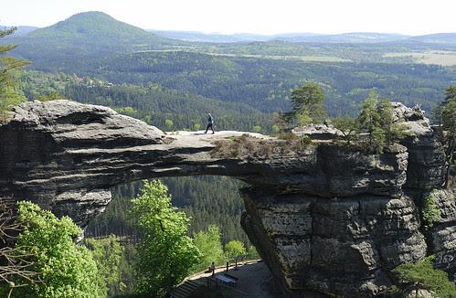 Prebischtor - Böhmische Schweiz, Pravčická Gate, Elbe Sandstone Mountains (Czech Republic)