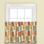 "Saturday Knight Ltd Tranquility Warm Toned Palette window Valance - 58x13"" Spice - 58x36"" Spice"