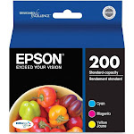 Epson T200520 Durabrite Ultra Ink, Cyan/Magenta/Yellow - 3 pack