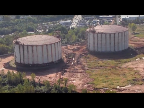 Exclusive: Developer trying to resume LNG tank dismantle after stop work order