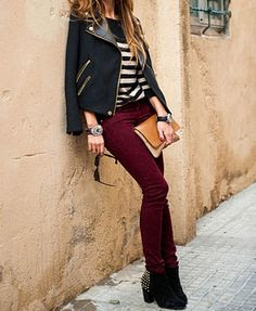 Burgundy is one of my favorite colors.