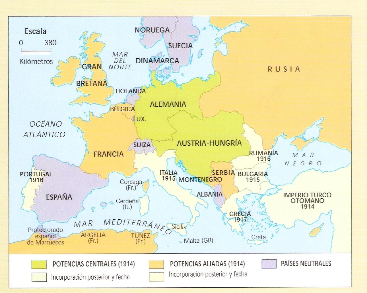 Resultado de imagen de europa 1914