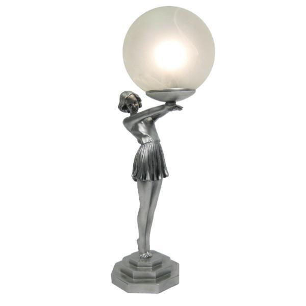 Matilda Biba Art Deco Lamp Tiffany Lighting Direct
