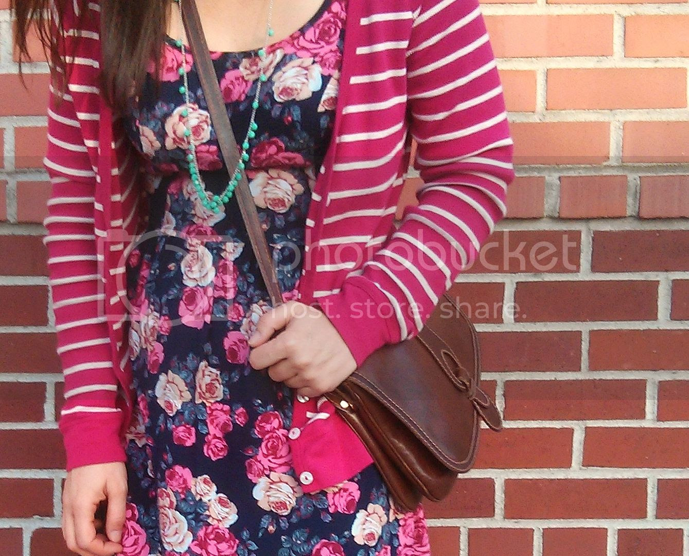 how to wear stripes and florals together