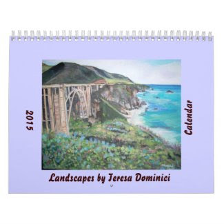 Landscapes 2015 Calendar