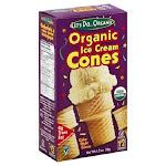 Let's Do Organic Ice Cream Cones Cake Style