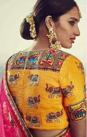 Trendy & Stylish Saree Blouse designs Women should have