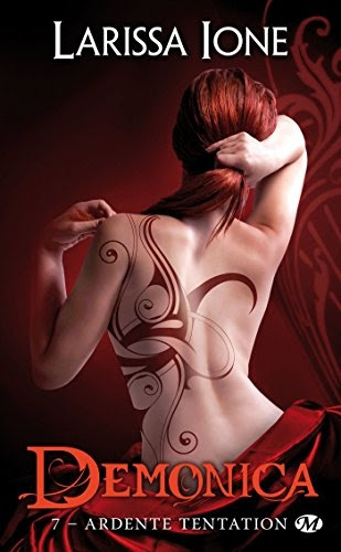 Couverture Demonica, tome 7 : Ardente tentation