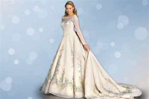 "First Look: Alfred Angelo's New ""Cinderella"" Wedding Gown"