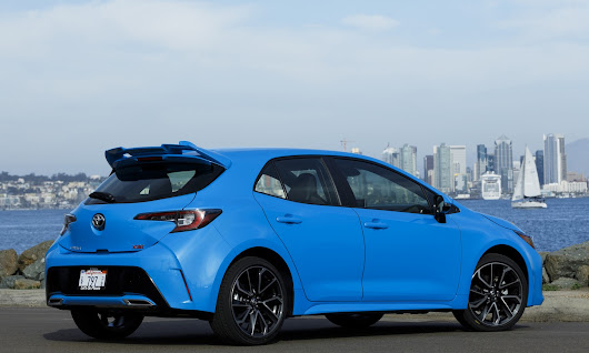 The Hatch Is Back! See The All-new Toyota Corolla Hatchback