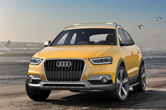 Fabulous Golden Audi Q3 at the Beijing Motor Show!  |  Car Tuning News | Auto News | Car NewsCar Tuning News | Auto News | Car News