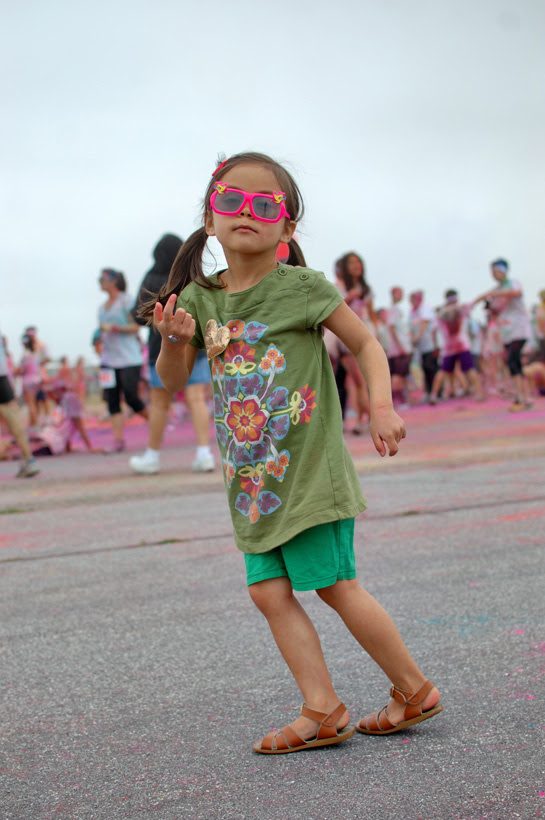 the socal color run 2012