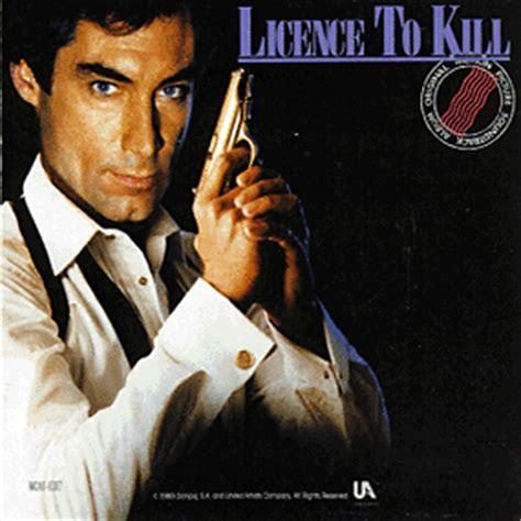 Licence to Kill Soundtrack (1989)