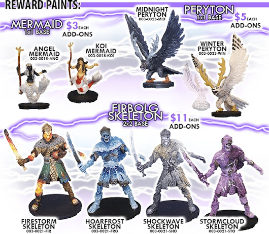 Dungeon Crawler™, Pre-painted Miniatures: Storm Riders by Gifted Vision — Kickstarter