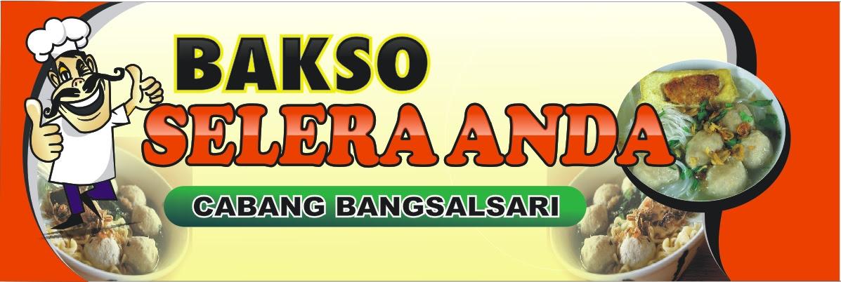 Banner Bakso Mie Ayam Cdr - contoh desain spanduk