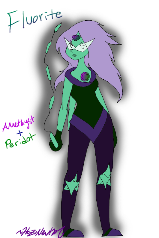 Image: Gem Fusion - Fluorite by HezuNeutral on DeviantArt