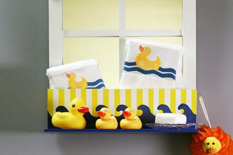 Rub A Dub Bath Shelf | FaveCrafts.