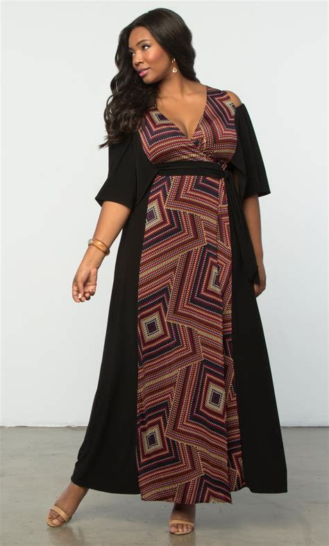 Plus Size Maxi Dresses   Serene Maxi Dress