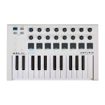 Arturia MiniLab MKII Mini Hybrid Keyboard Controller - White