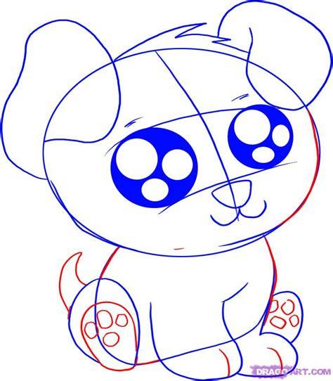 draw  anime cartoon puppy step  step anime