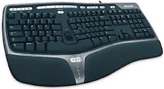 Microsoft Ergonomic Keyboard Model