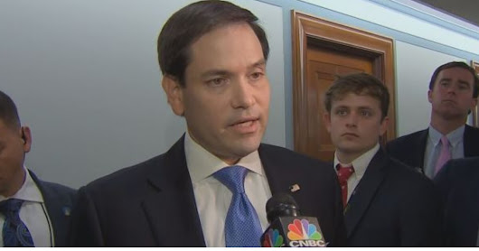Marco Rubio Uses Obama's Own Words Against Him After Former President Calls for 'Decency'