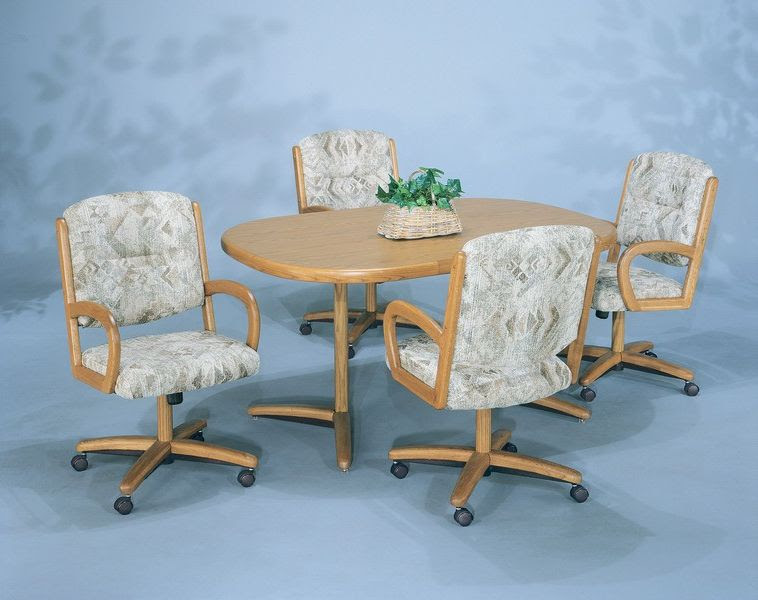 Dining Room Chairs With Casters Wild, Leather Dining Room Chairs With Casters