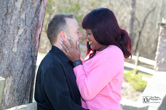 Pearson Park Engagement Photography - Nicole and Michael