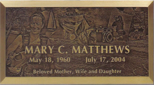 Bronze Polished Border: American Headstones Company
