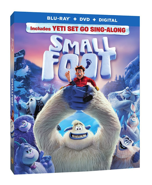 "[Giveaway] ""Smallfoot"" DVD/Blu-Ray Combo Pack - Baby Bird's Farm and Cocina"