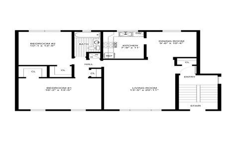 simple house designs  floor plans simple modern house