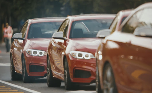 The Epic Driftmob feat. BMW M235i : Videos | Drive Away 2Day
