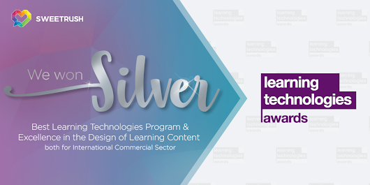 SweetRush Wins Two 2018 Learning Technologies Awards | SweetRush