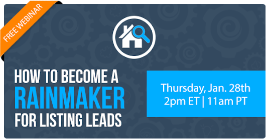 Free Webinar | How to Become a Rainmaker for Listing Leads | Keeping Current Matters